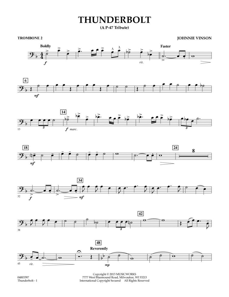 Thunderbolt (A P-47 Tribute) - Trombone 2