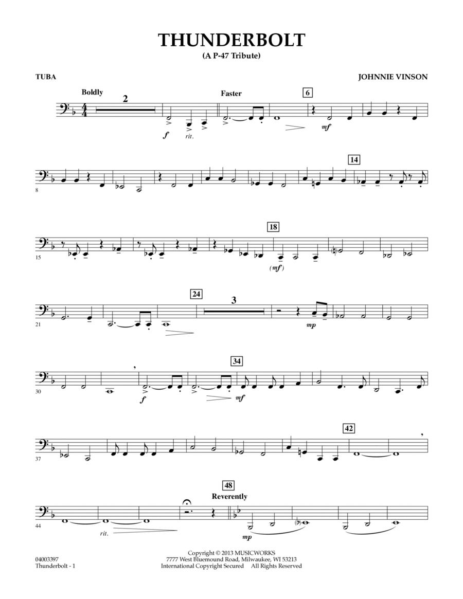 Thunderbolt (A P-47 Tribute) - Tuba