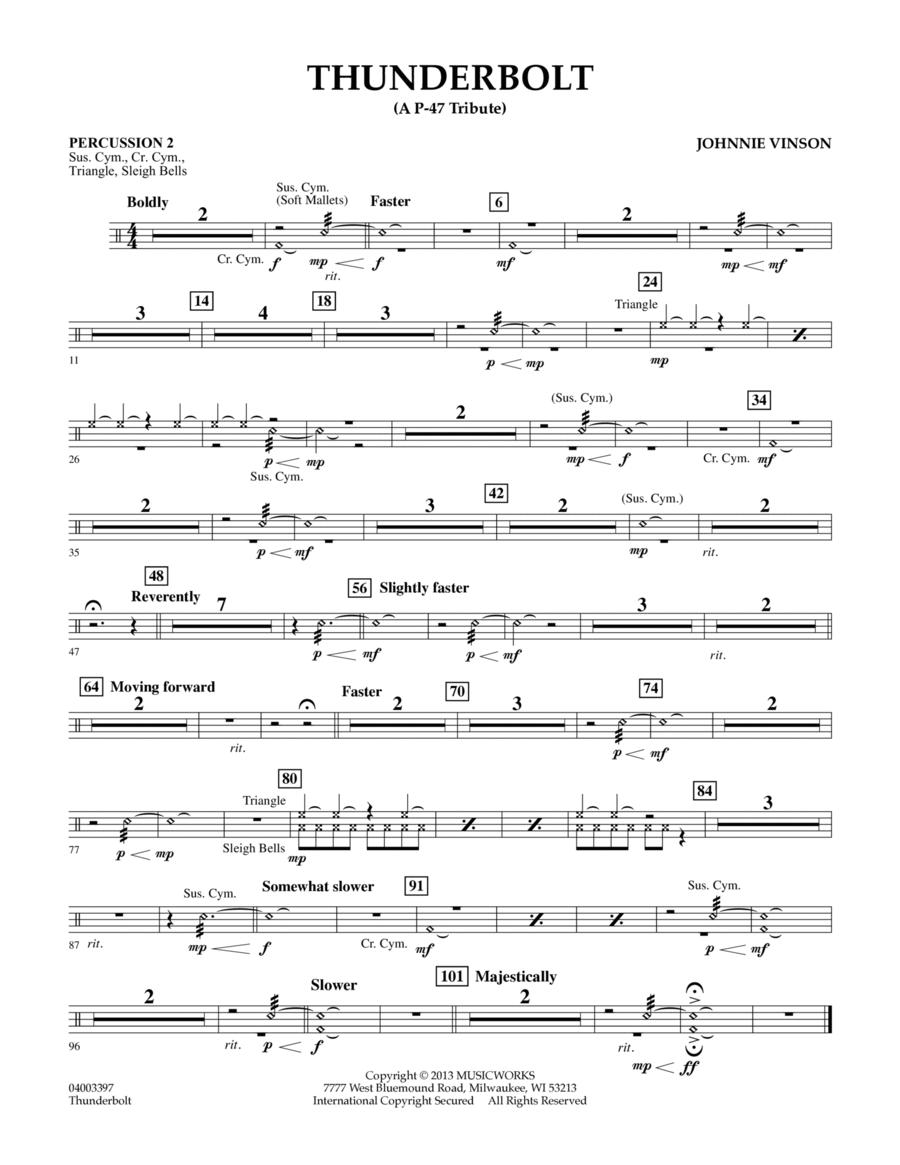 Thunderbolt (A P-47 Tribute) - Percussion 2