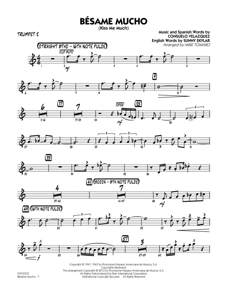 Besame Mucho (Kiss Me Much) - Trumpet 2