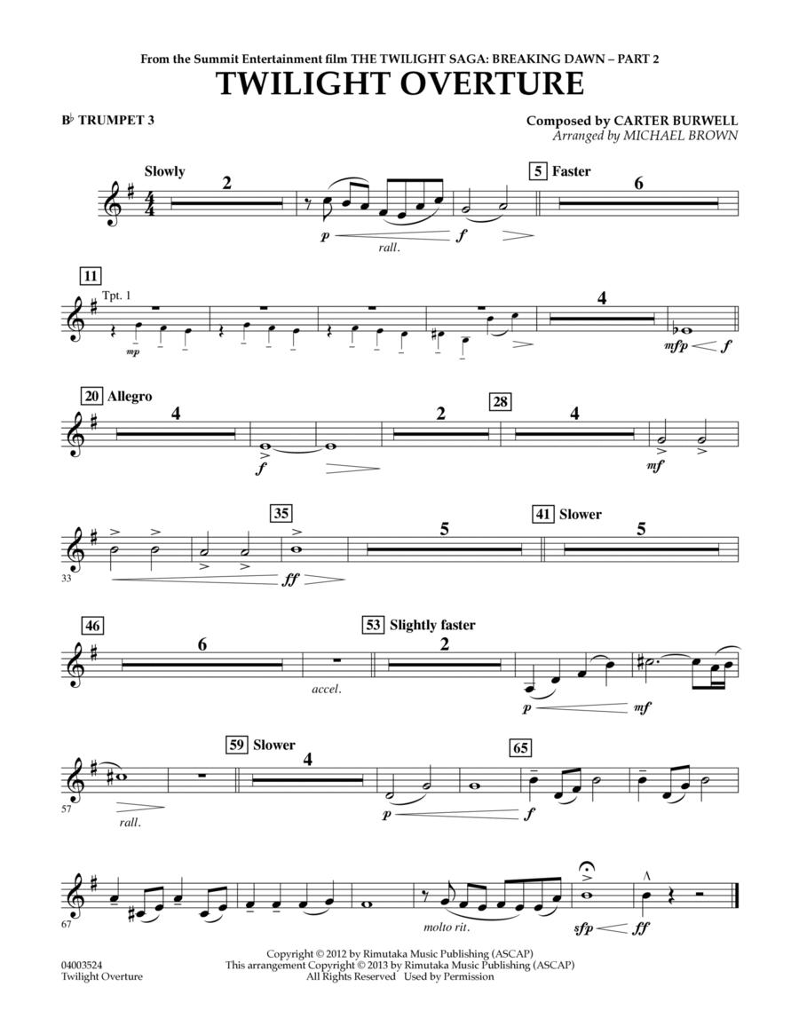 Twilight Overture (from The Twilight Saga: Breaking Dawn
