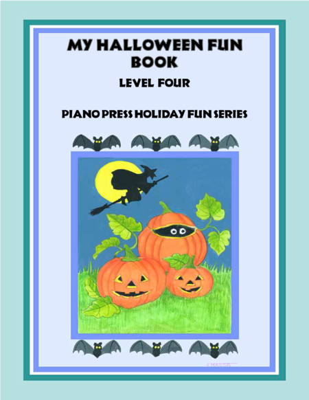 My Halloween Fun Book Level Four