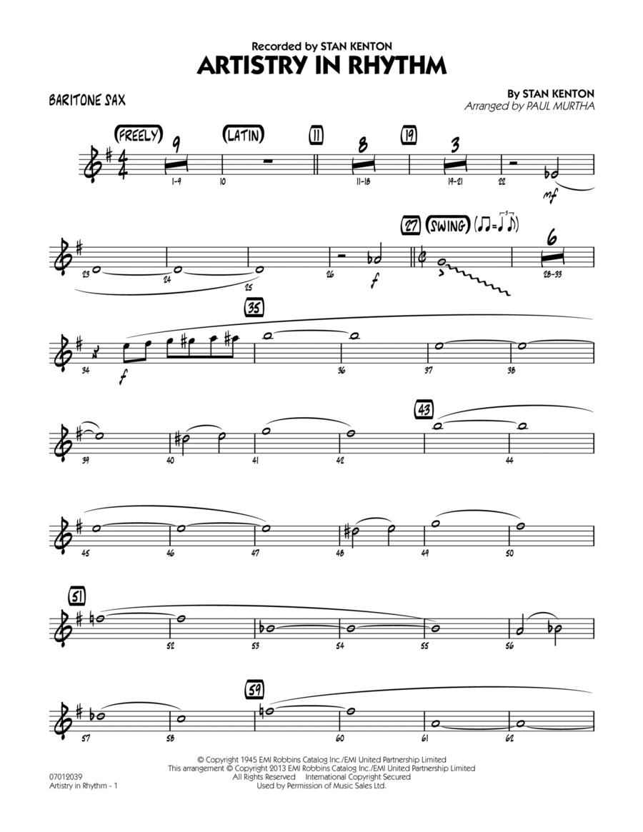 Artistry in Rhythm - Baritone Sax