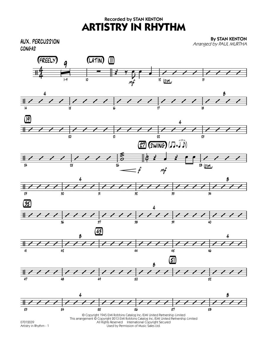 Artistry in Rhythm - Aux Percussion