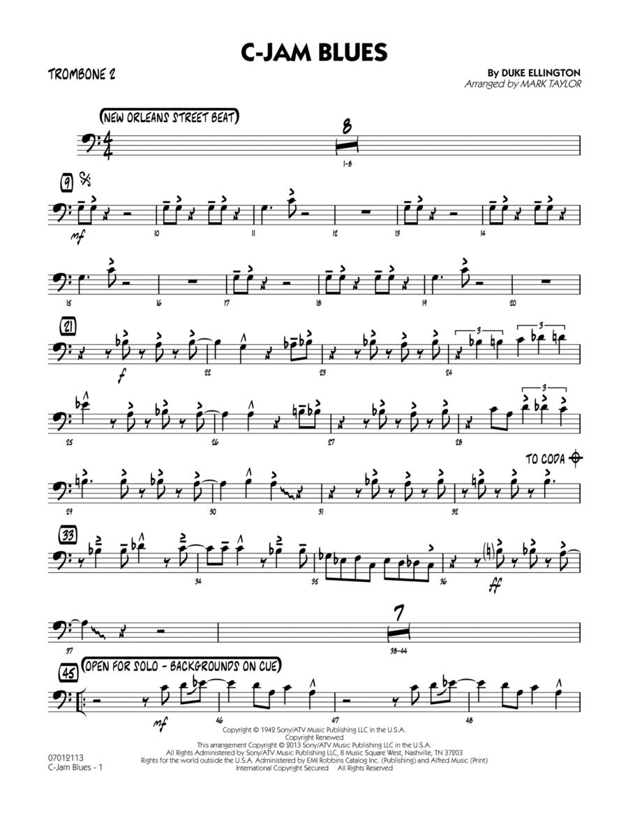 C-Jam Blues - Trombone 2