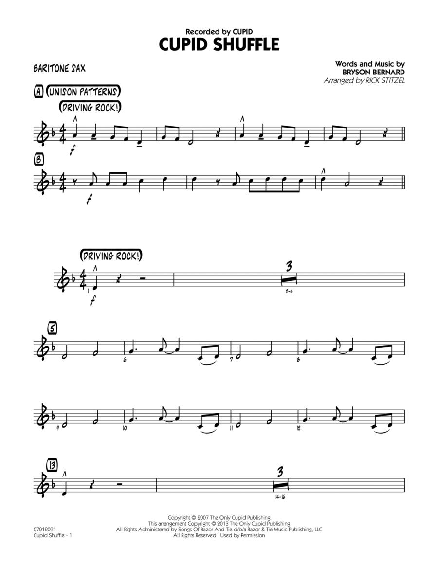 Cupid Shuffle - Baritone Sax