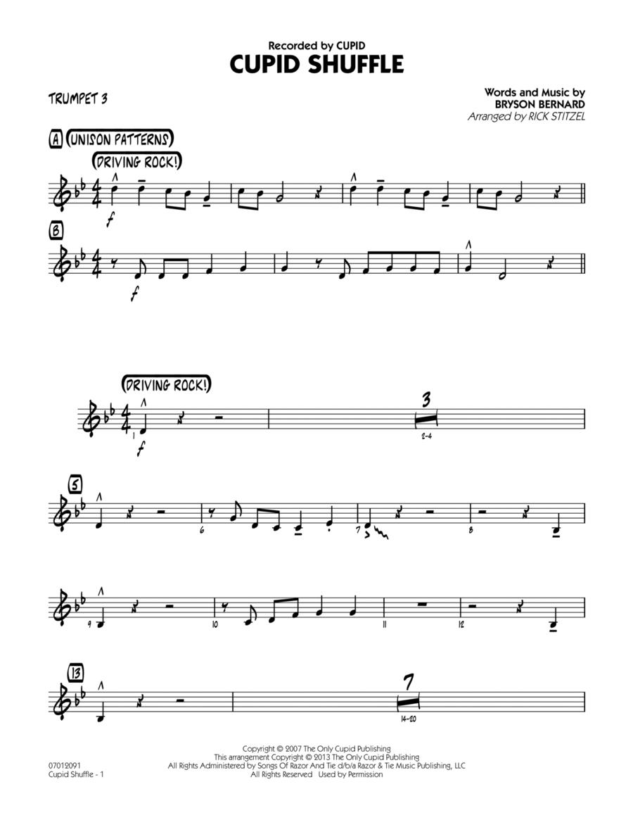 Cupid Shuffle - Trumpet 3