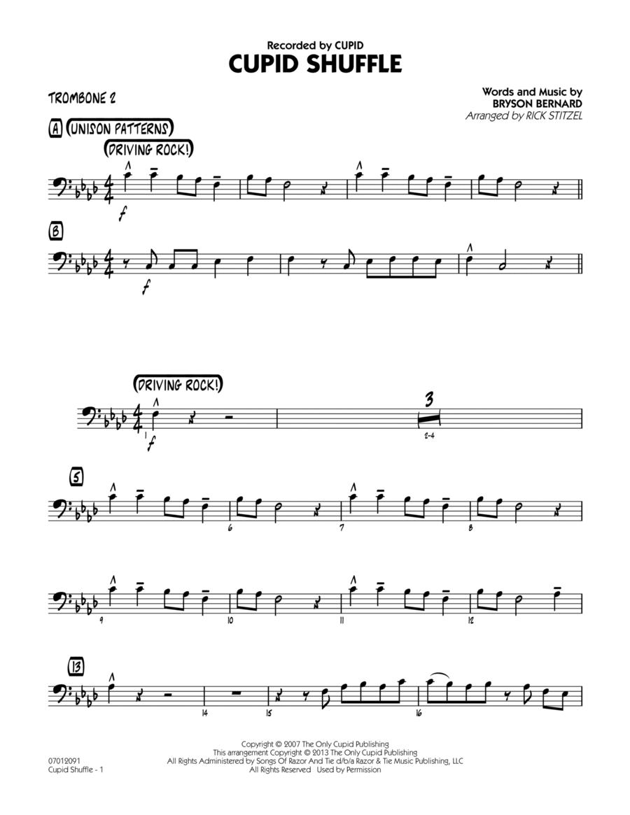 Cupid Shuffle - Trombone 2