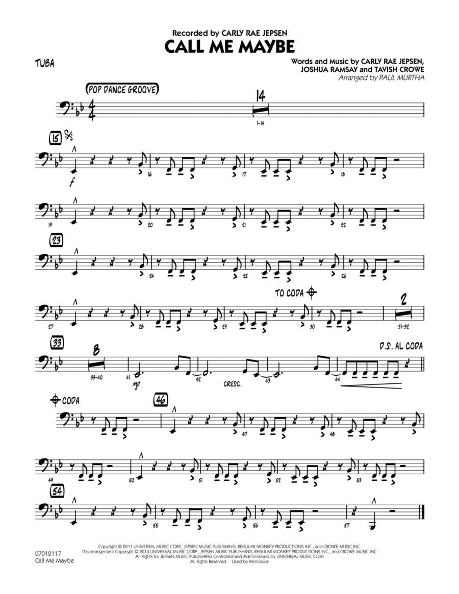 Call Me Maybe - Tuba