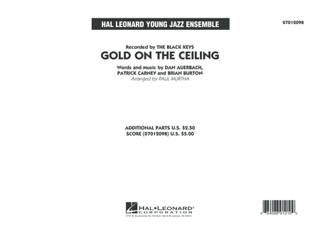 Gold on the Ceiling - Conductor Score (Full Score)