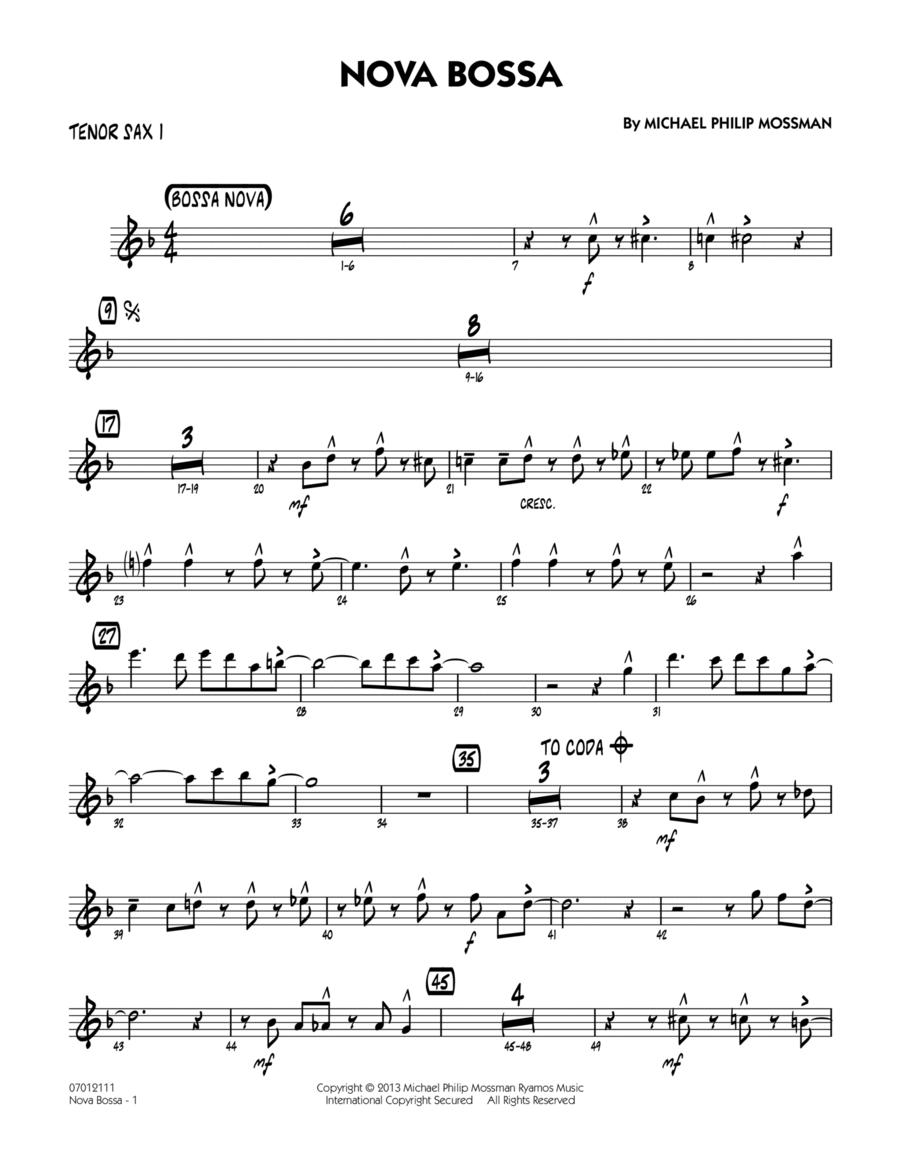 Nova Bossa - Tenor Sax 1