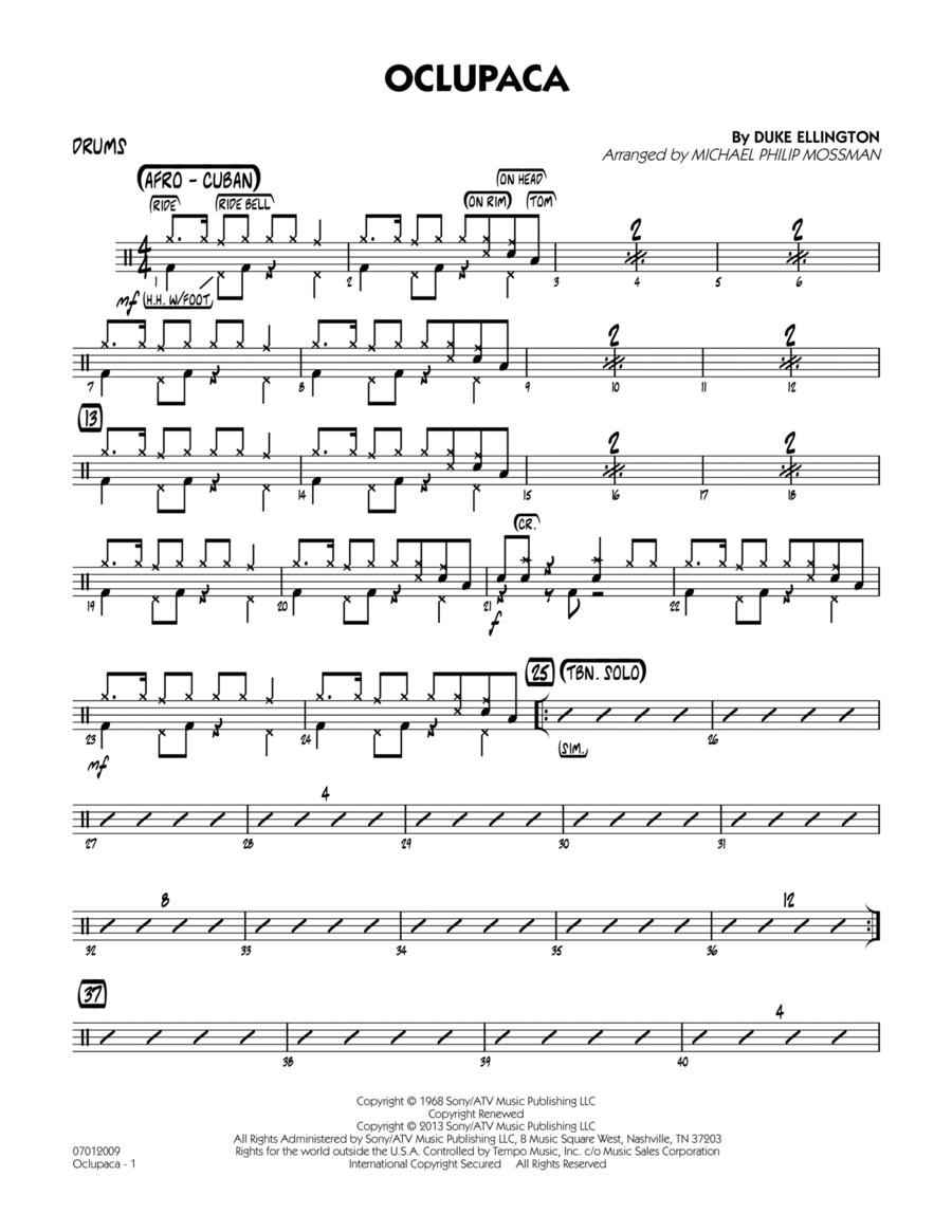 Oclupaca - Drums