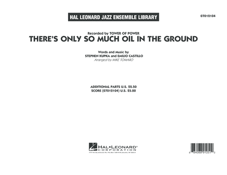 There's Only So Much Oil in the Ground - Conductor Score (Full Score)