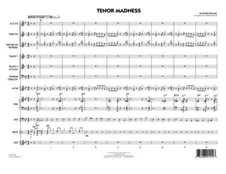 Tenor Madness - Full Score