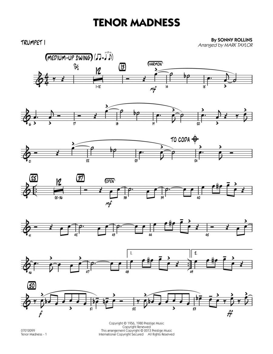 Tenor Madness - Trumpet 1