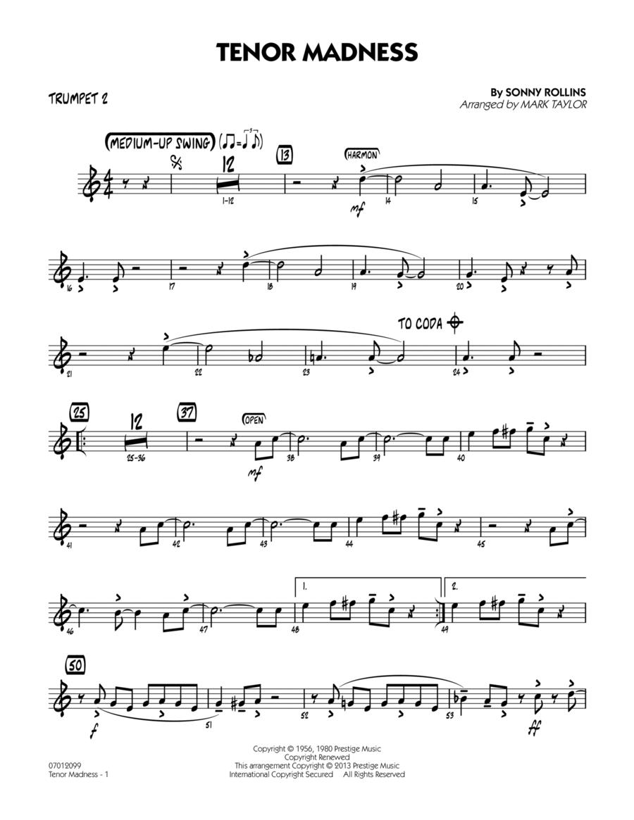 Tenor Madness - Trumpet 2