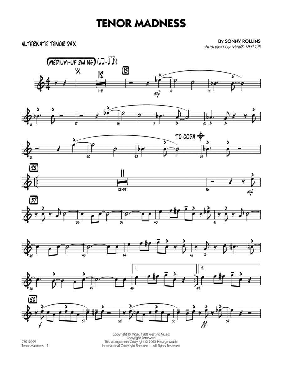 Tenor Madness - Alternate Tenor Sax