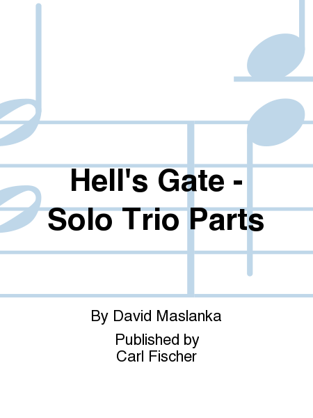 Hell's Gate - Solo Trio Parts
