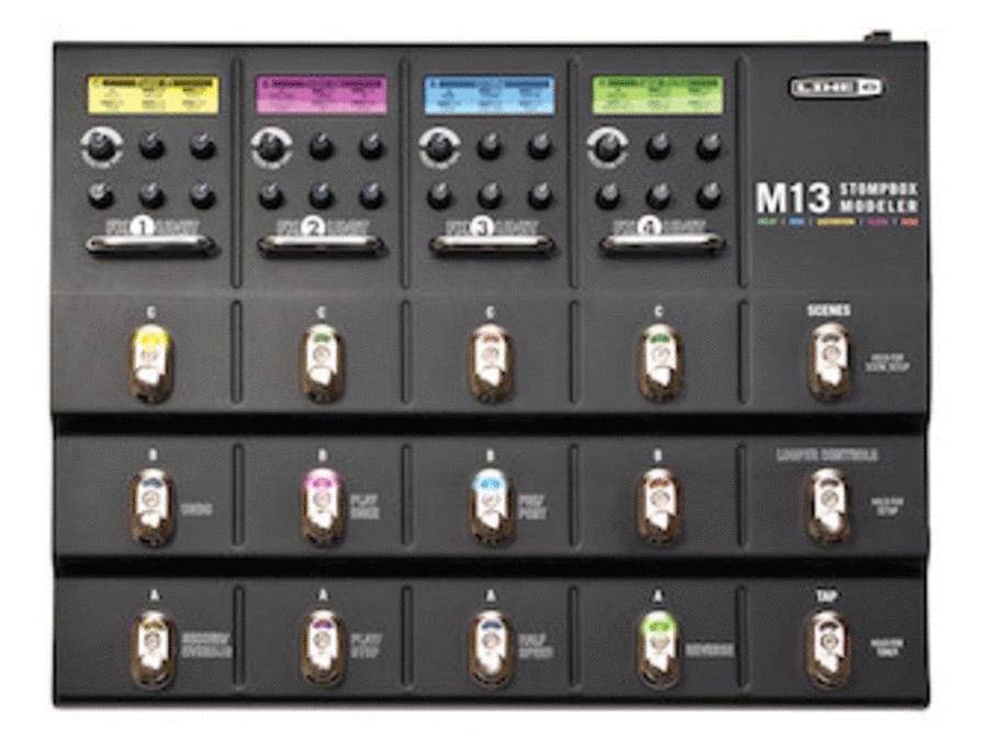 M13 Stompbox Modeler Guitar Multi-Effect Pedal