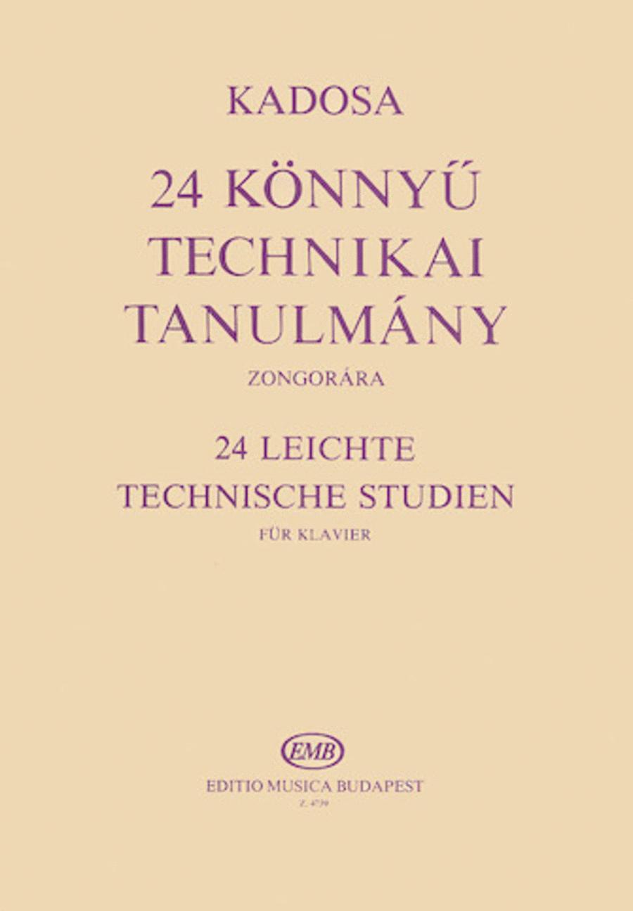 24 Easy Technical Studies