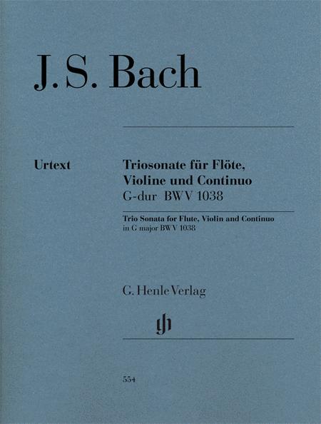 Trio Sonata for Flute, Violin and Continuo BWV 1038