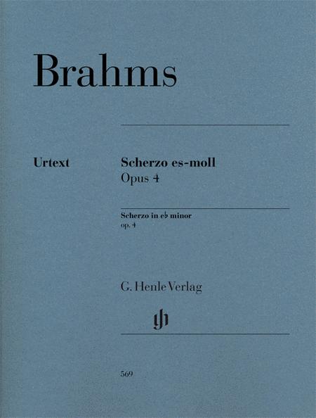 Scherzo in E-Flat minor, Op. 4