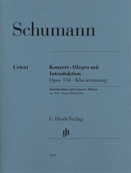 Introduction and Concert Allegro for Piano and Orchestra, Op. 134