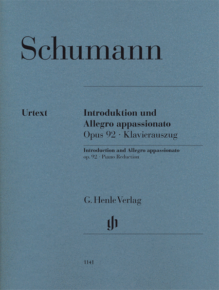Introduction and Allegro Appassionato for Piano and Orchestra, Op. 92