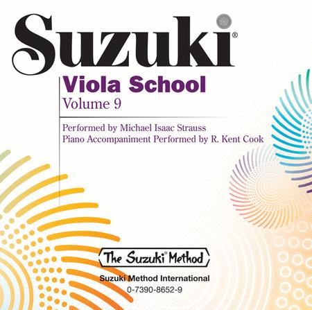 Suzuki Viola School, Volume 9