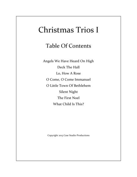 Christmas Trios I