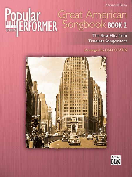 Popular Performer -- Great American Songbook, Book 2