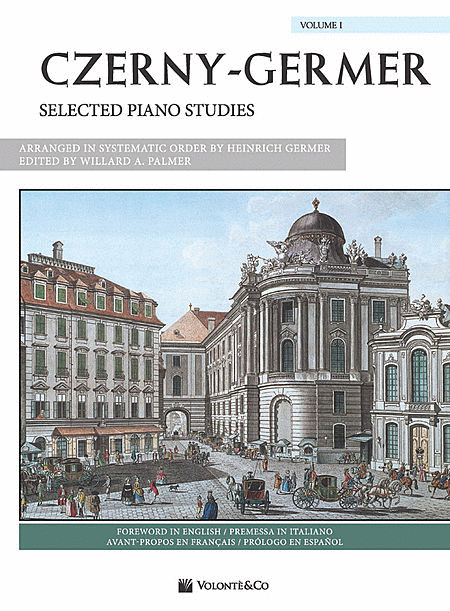 Czerny-Germer -- Selected Piano Studies, Volume 1