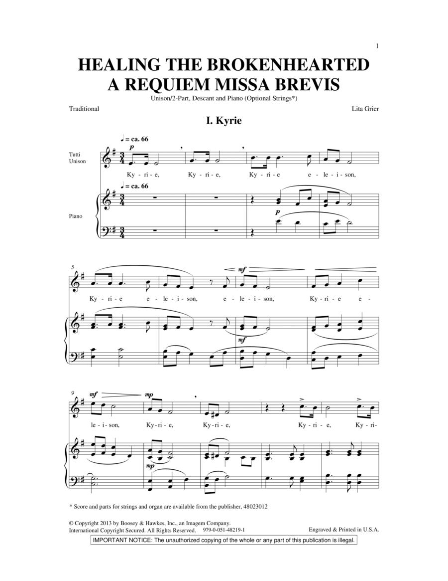 Healing The Brokenhearted (A Requiem Missa Brevis)