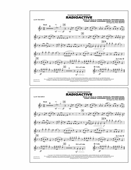 radioactive alto sax printable sheet music download radioactive flute piccolo sheet music by. Black Bedroom Furniture Sets. Home Design Ideas