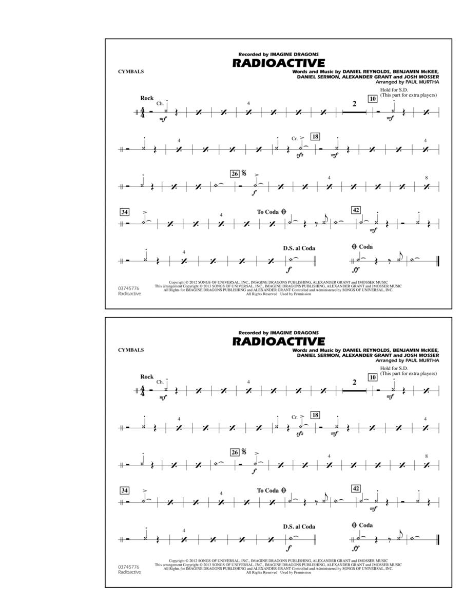 Radioactive - Cymbals