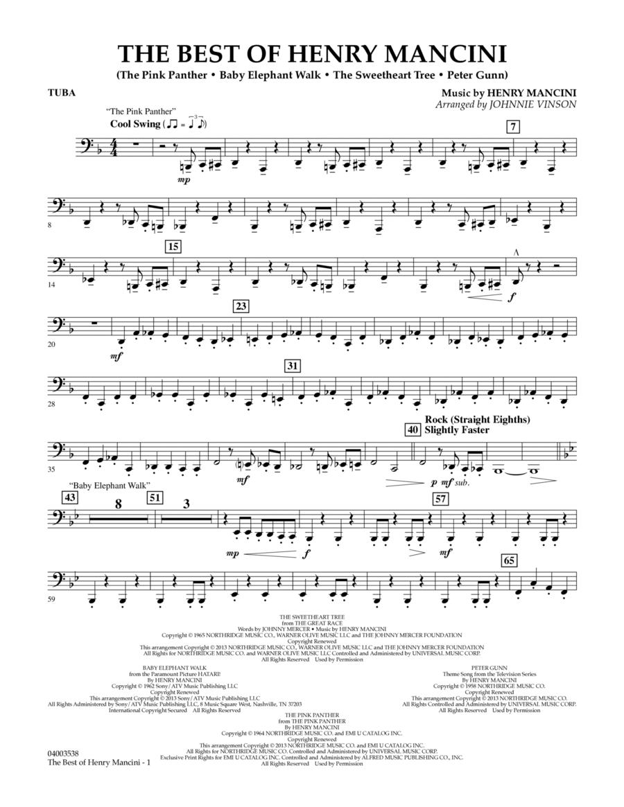 The Best of Henry Mancini - Tuba
