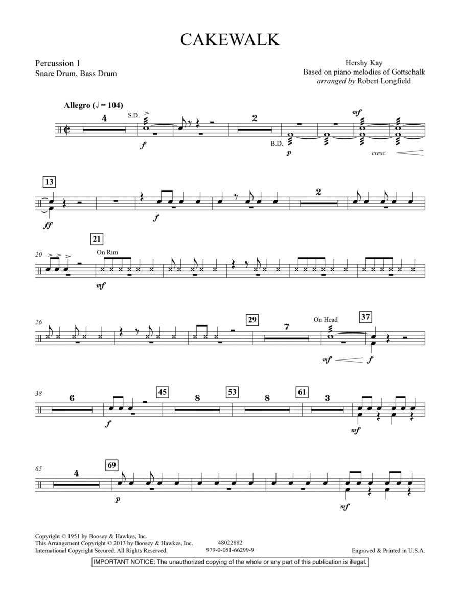 Cakewalk - Percussion 1