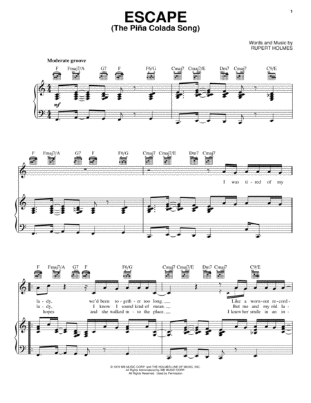 Escape (The Pina Colada Song)