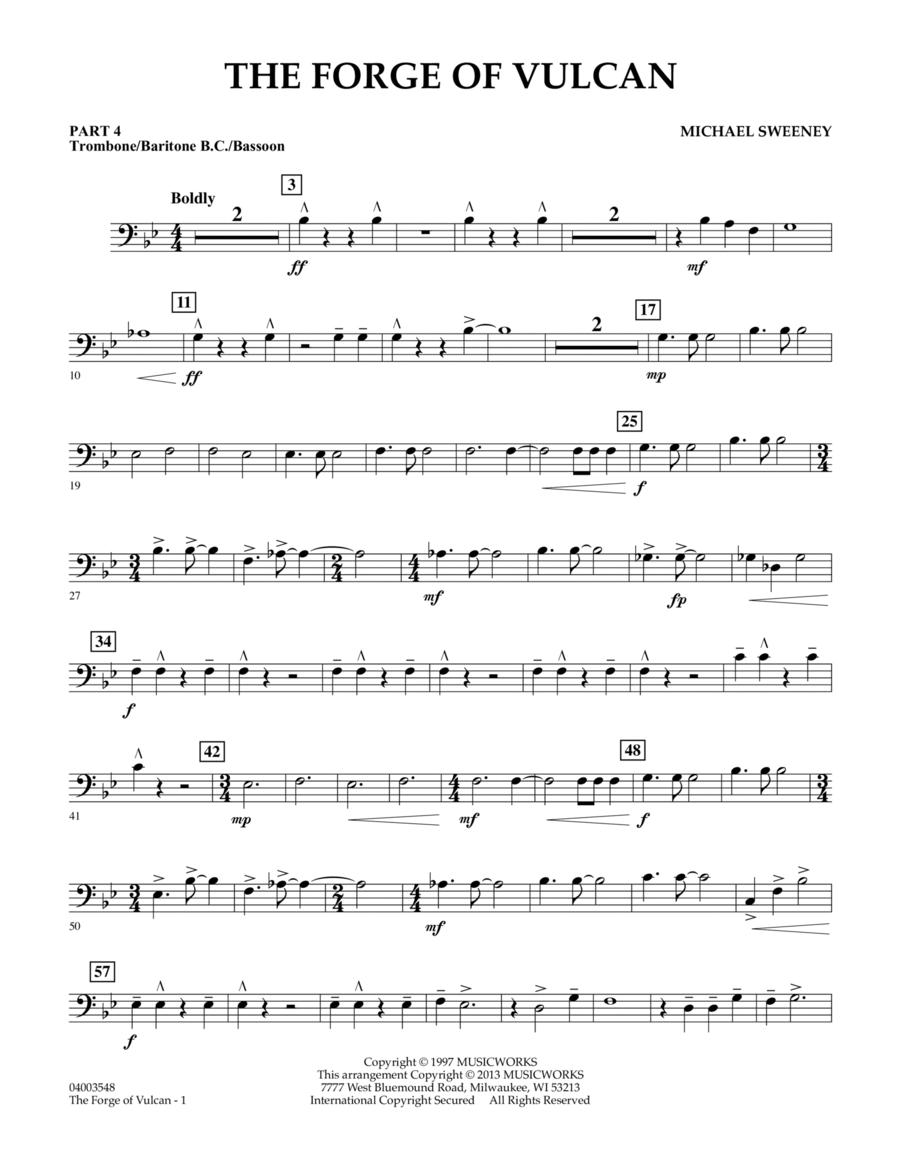 The Forge of Vulcan - Pt.4 - Trombone/Bar. B.C./Bsn.
