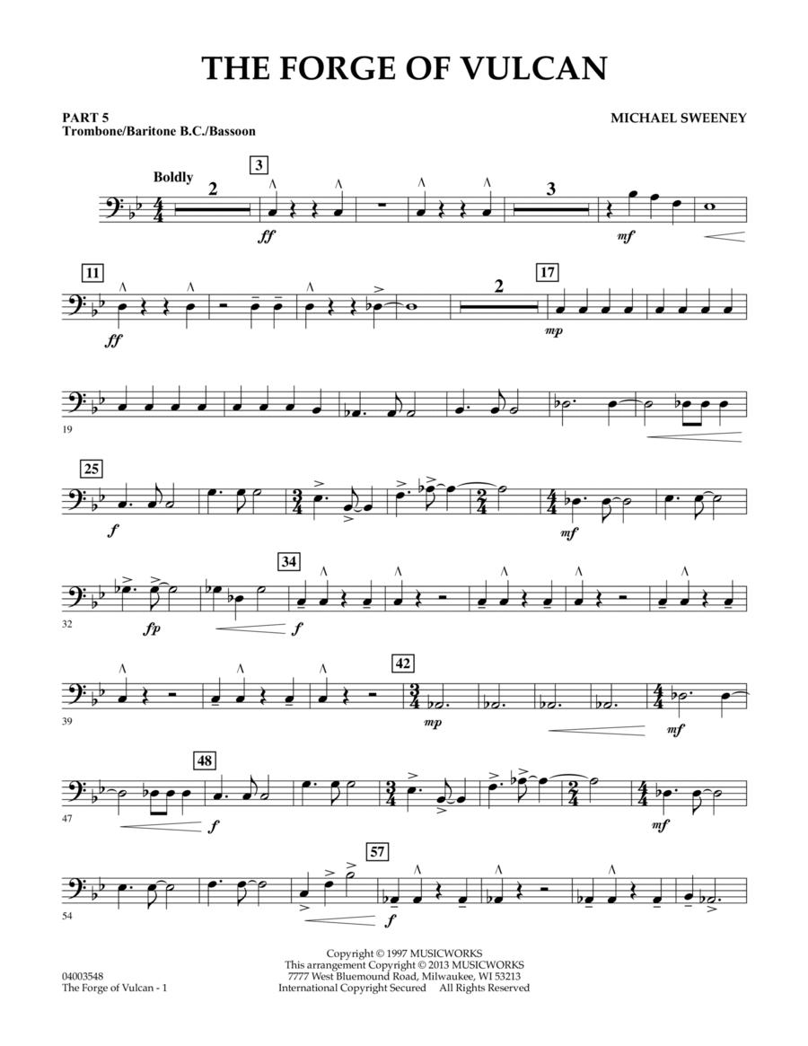 The Forge of Vulcan - Pt.5 - Trombone/Bar. B.C./Bsn.