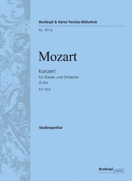 Konzert fur Klavier und Orchester G-dur KV 453