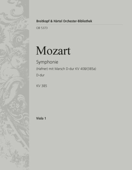 Symphonie Nr. 35 D-dur KV 385 (Hafner)