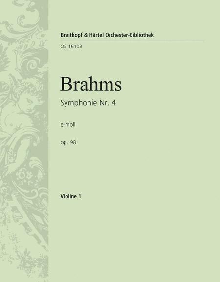 Symphonie Nr.4 e-moll op. 98