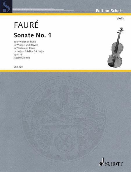 Sonata No. 1 in A Major, Op. 13