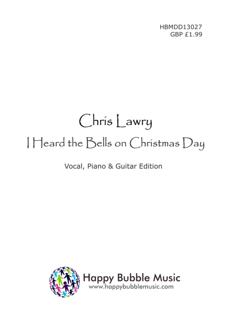 I Heard the Bells on Christmas Day (Piano Vocal Guitar Score)