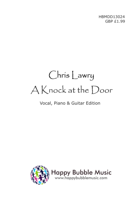 A Knock at the Door (Piano Vocal Guitar Score) A Carol for Children