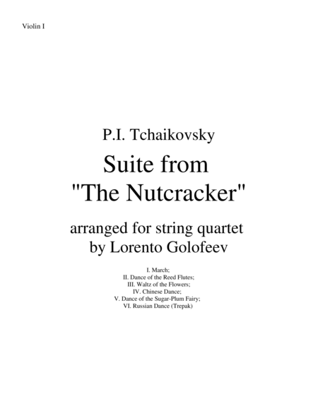 Suite from The Nutcracker
