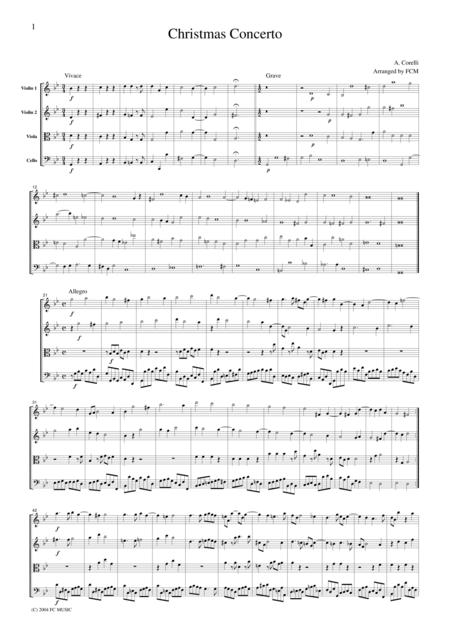 Corelli Christmas Concerto