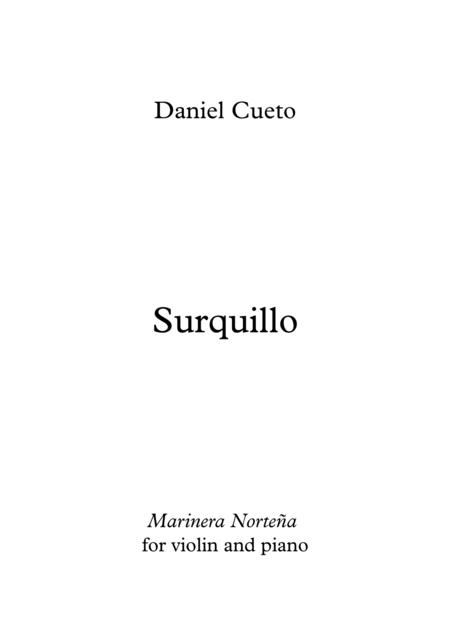 Surquillo, for violin and piano: Score