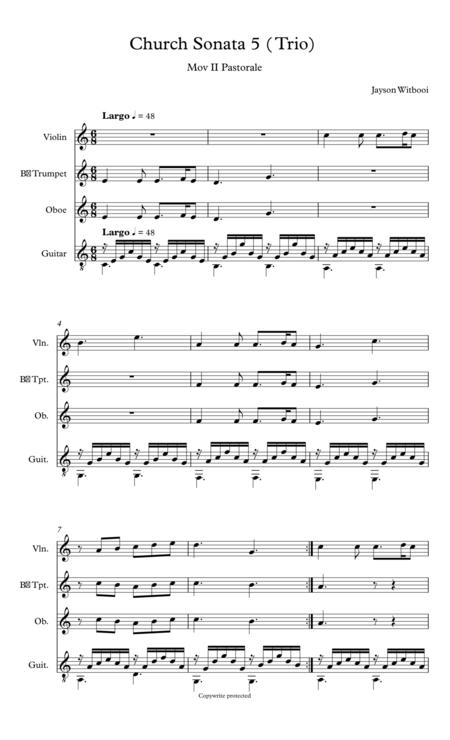 Guitar Trio II mov Patorale